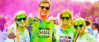 Color Vibe 5k Run 2014
