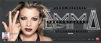 Emma in concerto al 105 Stadium