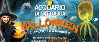 Halloween 2014 all'Acquario di Cattolica