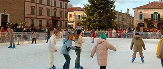 Pista di pattinaggio su ghiaccio 2016/2017 a Cervia