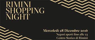 Rimini Shopping Night Natale 2016