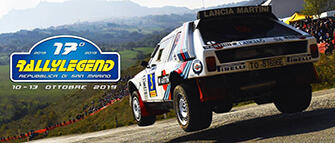 Rally Legend 2018 a San Marino