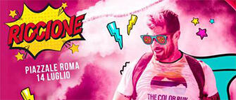 The Color Run 2018 a Riccione