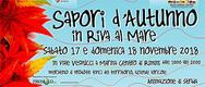 Sapori d'Autunno in Riva al Mare 2018 a Rimini - DAL 17 AL 18/11/2018