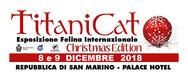 Titanicat Christmas Edition 2018 a San Marino - DAL 8 AL 09/12/2018