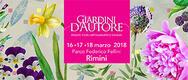 Giardini d'Autore a Rimini 2018: edizione Primavera - DAL 16 AL 18/03/2018
