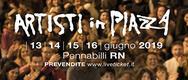Artisti in Piazza 2019 a Pennabilli - DAL 13 AL 16/06/2019